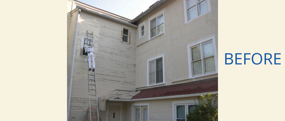 New Haven, CT Multi-Family Home Exterior Painting