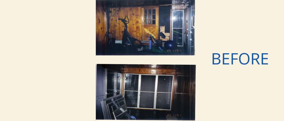 Orange, CT Interior Painting (Family Room)