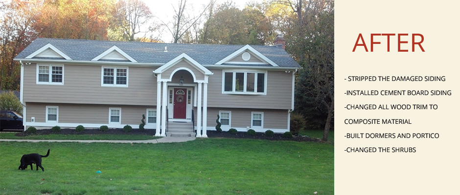 Orange, CT Exterior Home Remodel